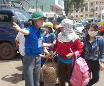 Gia Lai: Các xe khách phục vụ miễn phí cho thí sinh và người nhà