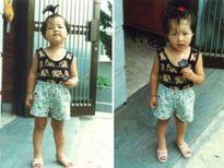 Nhìn ảnh thời thơ ấu, đoán tên sao Hàn