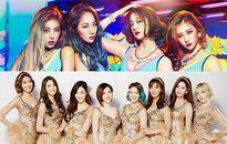 SNSD, Wonder Girls lại làm 'khách mời' PR miễn phí cho đàn em