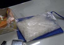 Bắt hai kẻ vượt sông Hồng mùa lũ qua biên giới mua ma túy