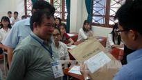 Kiểm tra công tác tổ chức thi tại Quảng Nam