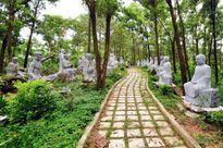 Độc đáo vườn tượng La Hán chùa Khánh Đối (Hải Phòng)