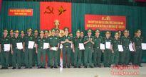 BĐBP Nghệ An: Thăng quân hàm cho 283 quân nhân