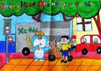 Trên 24.000 khẩu hiệu dự thi 'Doraemon với An toàn giao thông'