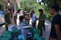 Bắt vụ chở thuốc lá lậu lớn nhất Thừa Thiên-Huế
