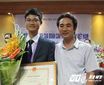 Con trai người thợ khóa giành thêm Huy chương Vàng Olympic Toán 2016