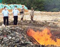 Quảng Ninh: Tiêu hủy 1 tấn động vật không rõ nguồn gốc