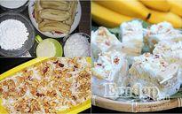 Kem chuối dừa đậu phộng: Chồng gật gù, con mê mẩn