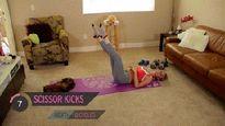 8 phút thể dục giảm cân nhanh, săn chắc sau sinh