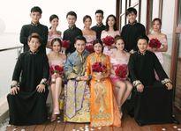 Dàn phù dâu, phù rể long lanh trong đám cưới Trần Hiểu - Trần Nghiên Hy