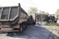 Tai nạn nghiêm trọng, tài xế và bé 3 tuổi chết cháy trong cabin