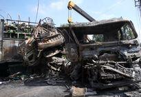 Tai nạn giao thông, xe cháy rụi, 2 người tử vong