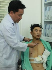 Phẫu thuật cứu sống bệnh nhân bị bắn bằng súng hoa cải