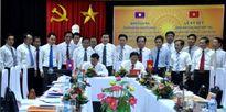 Ký kết hợp tác với Ban kiểm tra - thanh tra tỉnh Hủa Phăn (Lào)