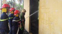 Quảng Ngãi: Cháy lớn giữa trưa thiêu rụi trường mẫu giáo