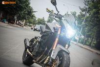 Naked-bike giá rẻ Benelli BN600i độ dragster độc nhất VN
