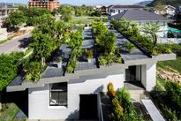 Ngôi nhà có khu vườn treo tuyệt đẹp ở Nha Trang