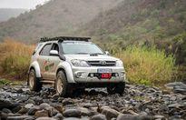 Độ Toyota Fortuner 4x4 phong cách chiến binh off-road