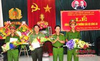 Bộ Công an trao thưởng chuyên án bắt trùm ma túy có vũ khí nóng ở Nghệ An