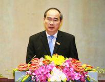 Ông Nguyễn Thiện Nhân - Chủ tịch Ủy ban TƯMTTQ VN: Cử tri lo ngại tình trạng ô nhiễm môi trường