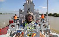 Mãn nhãn dàn tàu tên lửa Việt Nam tác chiến trên biển