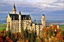 Đặt chân tới lâu đài cổ tích đẹp như mơ của 'Người đẹp ngủ trong rừng'