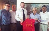VFF hợp tác phát triển bóng đá với CLB Liverpool
