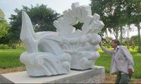 Vườn tượng Thành cổ - hoài niệm thời hoa lửa