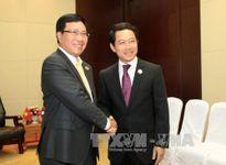 Hoạt động của Phó Thủ tướng Phạm Bình Minh tại Lào