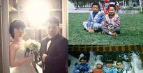 Vợ chồng trẻ ngạc nhiên vì phát hiện chụp chung ảnh 22 năm trước