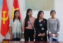 Tiếp nhận 4 phụ nữ bị mua bán từ Campuchia trở về