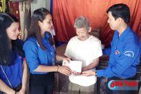 Tuổi trẻ Hà Tĩnh huy động 577 triệu đồng hỗ trợ đối tượng chính sách