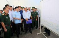 Phó Thủ tướng Trịnh Đình Dũng thị sát hoạt động của cụm cảng Cái Mép-Thị Vải