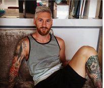 Sau 1 đêm, Lionel Messi bạc trắng đầu