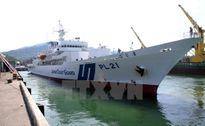 Tàu huấn luyện Lực lượng bảo vệ bờ biển Nhật Bản thăm Đà Nẵng