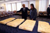Mỹ trao trả cho Guatemala bộ sưu tập cổ vật nghìn năm tuổi