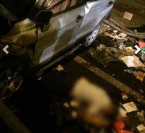 Thanh niên lái ô tô rơi từ cầu Thanh Trì xuống đất tử vong