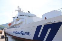 Tàu huấn luyện của cảnh sát biển Nhật Bản thăm Đà Nẵng