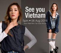 'Người đẹp không tuổi' nhóm 2NE1 sắp trở lại Việt Nam