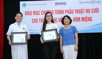 Amway tiếp tục đồng hành cùng chương trình phẫu thuật nụ cười tại Hà Nội và thực hiện hành trình 'Hướng về miền Trung thân yêu'