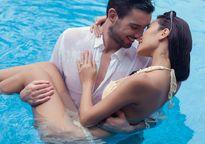 Hà Anh mặc bikini, chụp ảnh cưới với bạn trai ngoại quốc