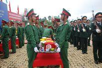 An táng 28 hài cốt liệt sỹ Quân tình nguyện Việt Nam