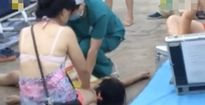 Bơi trong bể phao ngoài trời, bé gái 11 tuổi chết đuối thương tâm