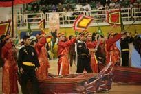 'Hào khí Đông A' tại lễ khai mạc Giải vô địch thế giới võ cổ truyền Việt Nam