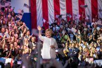 Bà Clinton chính thức trở thành ứng viên tổng thống Mỹ