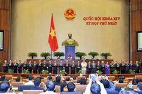 Quốc hội hoàn tất công tác nhân sự nhiệm kỳ mới