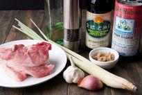 Thịt nướng sả đơn giản nhưng thơm nức mũi