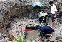 Hà Tĩnh: Đào đất làm vườn, phát hiện giếng cổ thời Chăm Pa
