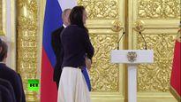 Nhà vô địch Olympic bật khóc vì ấm ức khi gặp ông Putin