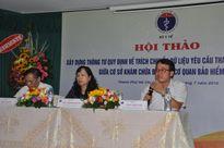 Bệnh viện Đa khoa Bưu điện tổ chức Hội thảo về trích chuyển dữ liệu BHYT